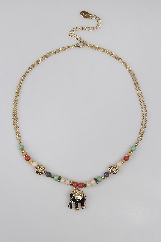 Ожерелье СлоникосРаспродажа Black Friday<br>Метал: гиппоаллергенный бижутерный сплав металлов, не содержащий никеля.<br>