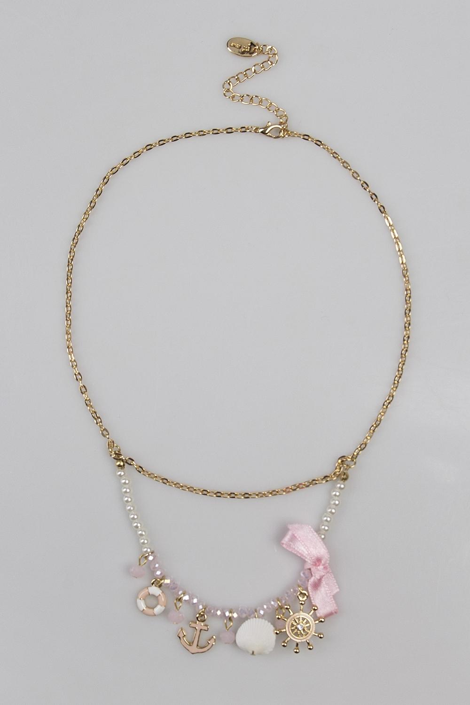 Ожерелье Си стайлРаспродажа Black Friday<br>Метал: гиппоаллергенный бижутерный сплав металлов, не содержащий никеля.<br>