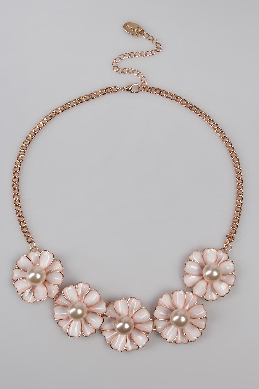 Ожерелье МаргариткиМетал: гиппоаллергенный бижутерный сплав металлов, не содержащий никеля.<br>