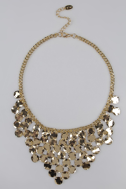 Ожерелье ЛиндосРаспродажа Black Friday<br>Метал: гиппоаллергенный бижутерный сплав металлов, не содержащий никеля.<br>