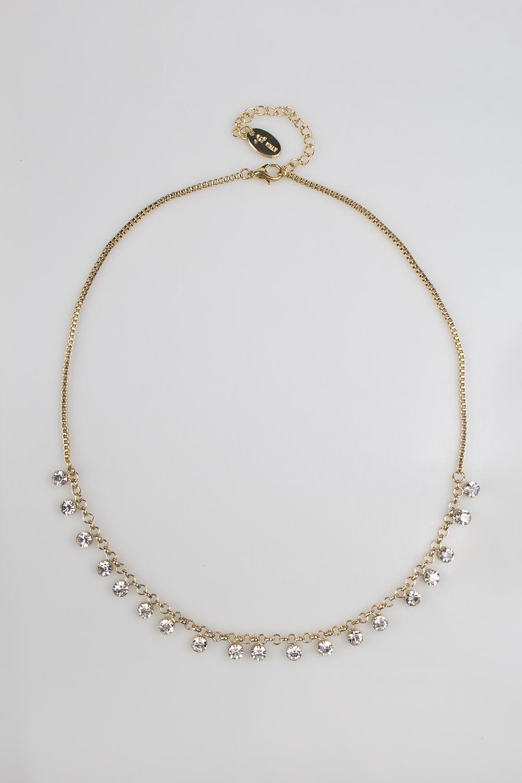 Ожерелье СолейМетал: гиппоаллергенный бижутерный сплав<br>