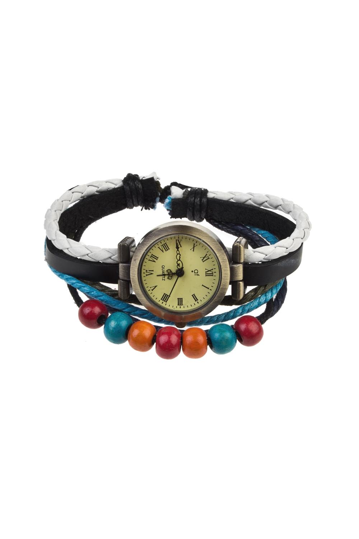 Часы наручные БрайтиИнтерьер<br>Материал: металл. Ремешок-браслет из натуральной кожи.<br>