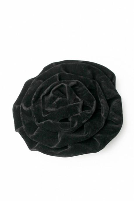 Броши Бархатная розаПодарки на Хэллоуин<br>Текстиль металл<br>