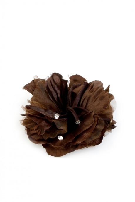 Брошь ШоколатоРаспродажа Black Friday<br>Брошь-заколка для волос, Материл: текстиль<br>