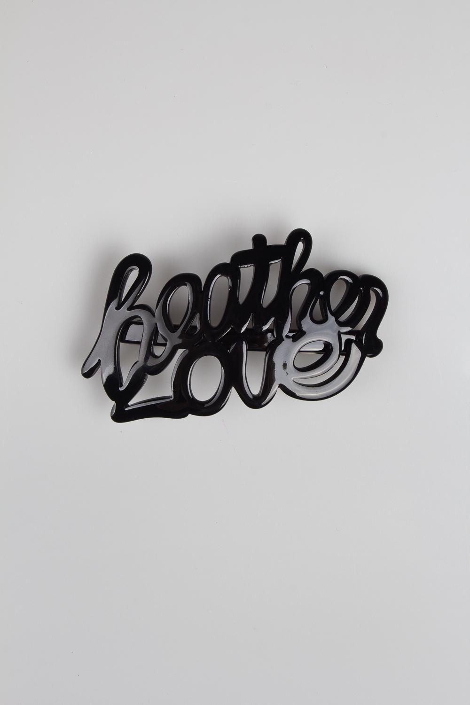 Заколка для волос Небесная любовьМатериал: пластик<br>