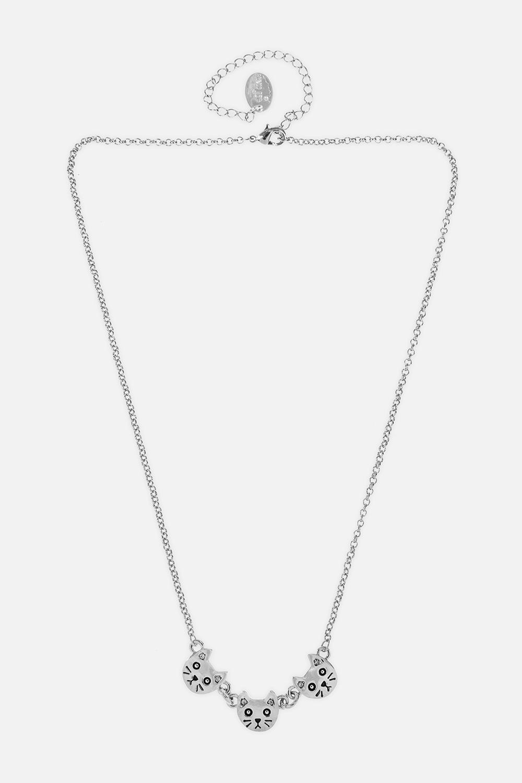 Ожерелье КотикиРаспродажа Black Friday<br>Метал: гиппоаллергенный бижутерный сплав металлов, не содержащий никеля.<br>