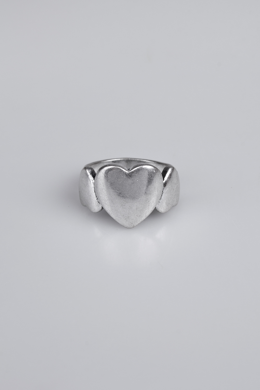 Кольцо Наши сердцаПодарки<br>Размер 18 металл<br>