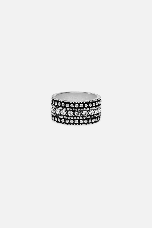Кольцо БусиМетал: гиппоаллергенный бижутерный сплав металлов, не содержащий никеля.<br>