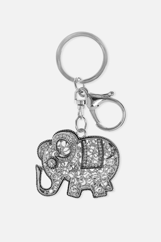 Брелок Индийский слонСувениры и упаковка<br>Метал: гиппоаллергенный бижутерный сплав металлов, не содержащий никеля.<br>