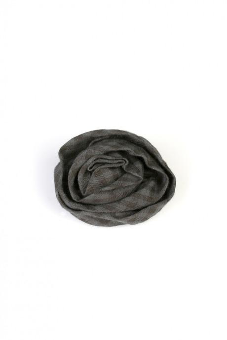 Брошь РозочкаРаспродажа Black Friday<br>Материал:  текстиль, металл<br>