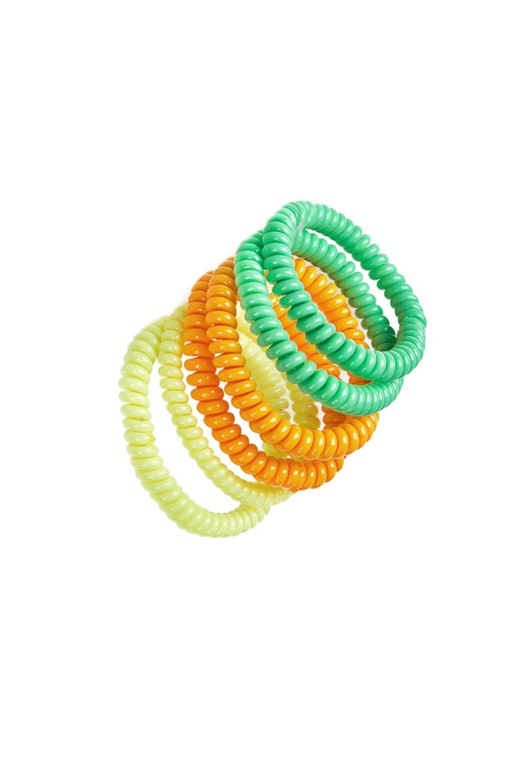 Набор резинок для волос СпрингРаспродажа Black Friday<br>Текстиль<br>