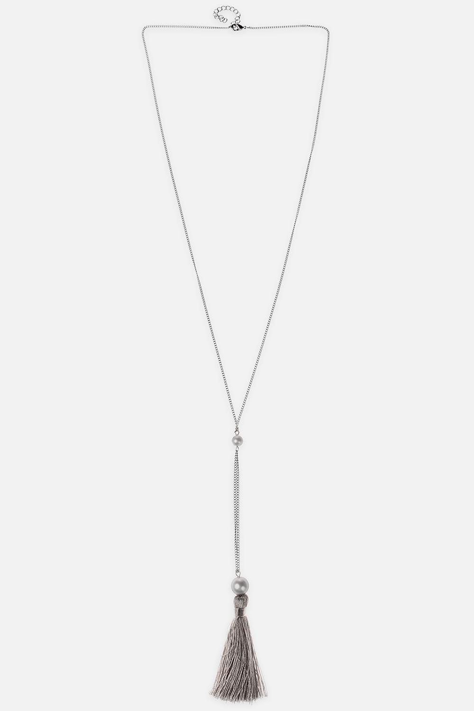 Ожерелье МоанаМетал: гиппоаллергенный бижутерный сплав металлов,  текстиль<br>