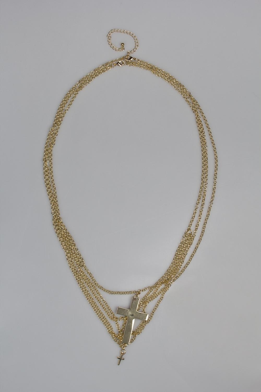 Ожерелье БодиРаспродажа Black Friday<br>Метал: гиппоаллергенный бижутерный сплав металлов, не содержащий никеля.<br>