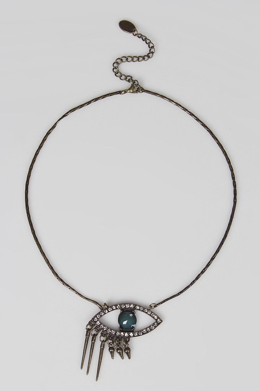Ожерелье Зоркое окоРаспродажа Black Friday<br>Метал: гиппоаллергенный бижутерный сплав металлов, не содержащий никеля.<br>