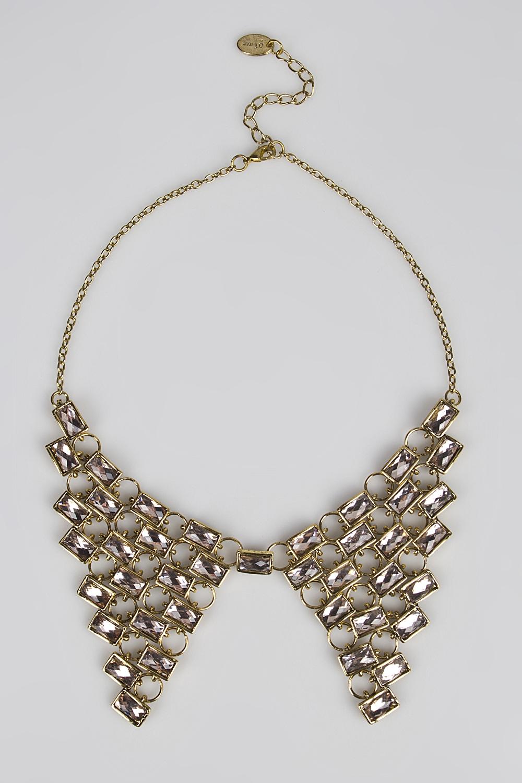 Ожерелье ДрагоценностьМетал: гиппоаллергенный бижутерный сплав металлов, не содержащий никеля. Вставка: стекло.<br>