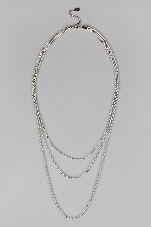 Ожерелье ЛикаМетал: гиппоаллергенный бижутерный сплав металлов, не содержащий никеля.<br>