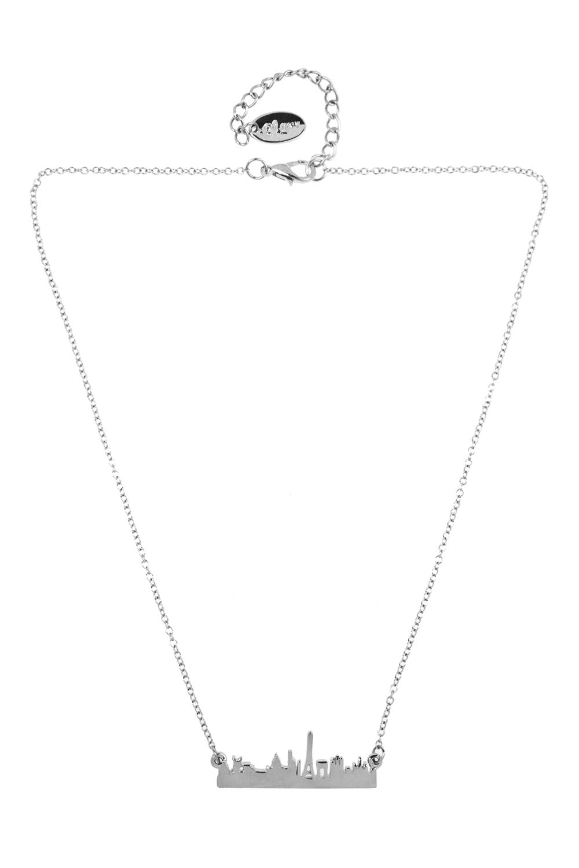 Ожерелье ПэрисПодарки на 8 марта<br>Материал: металл<br>