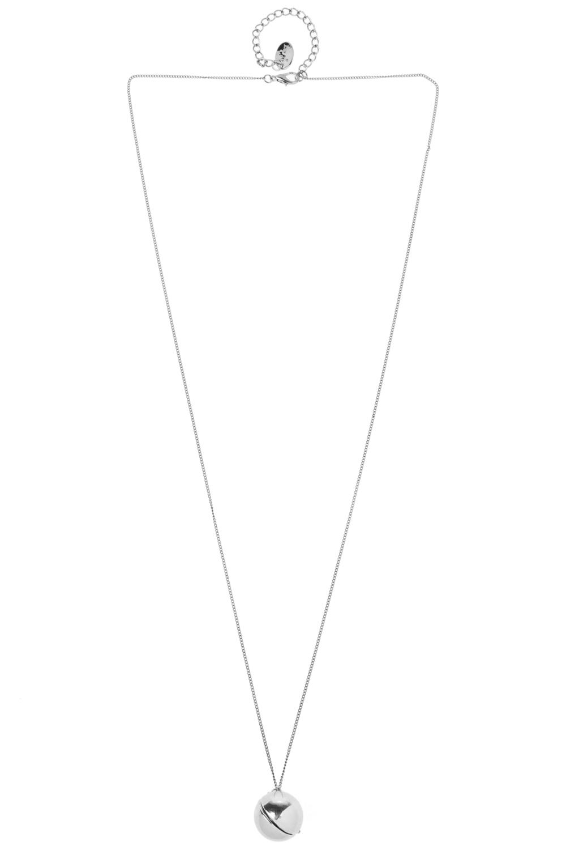 Кулон на цепочке ДримМатериал: металл. Внутри подвески-шара находится записка, в которой можно написать любое пожелание или секрет.<br>