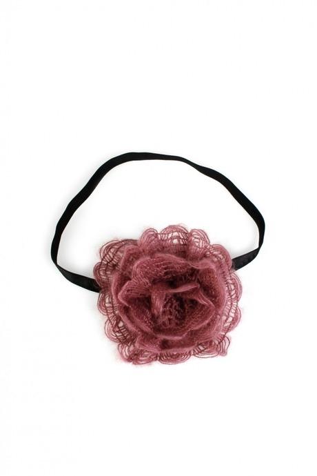 Повязка на голову Большой цветокРаспродажа Black Friday<br>Материал: текстиль<br>