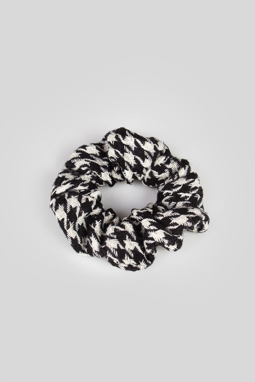 Резинка для волос Гусиная лапкаМатериал: текстиль<br>