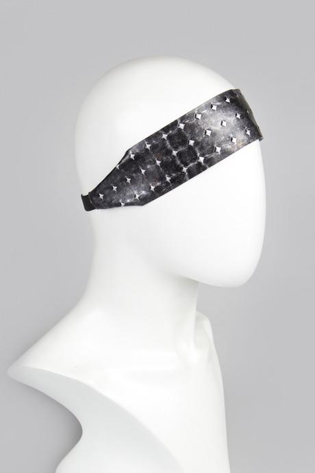 Повязка на голову РоксиМатериал: текстиль, искусств. кожа<br>
