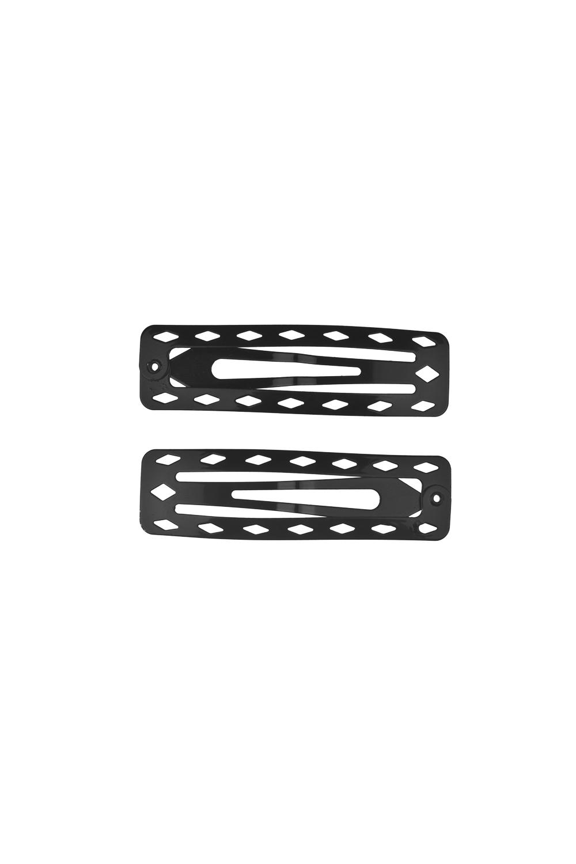 Набор заколок для волос АжурРаспродажа Black Friday<br>Материал: металл. 2-предм.<br>