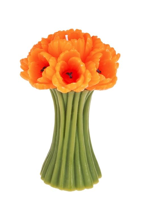 """Свеча """"Открытые тюльпаны"""""""