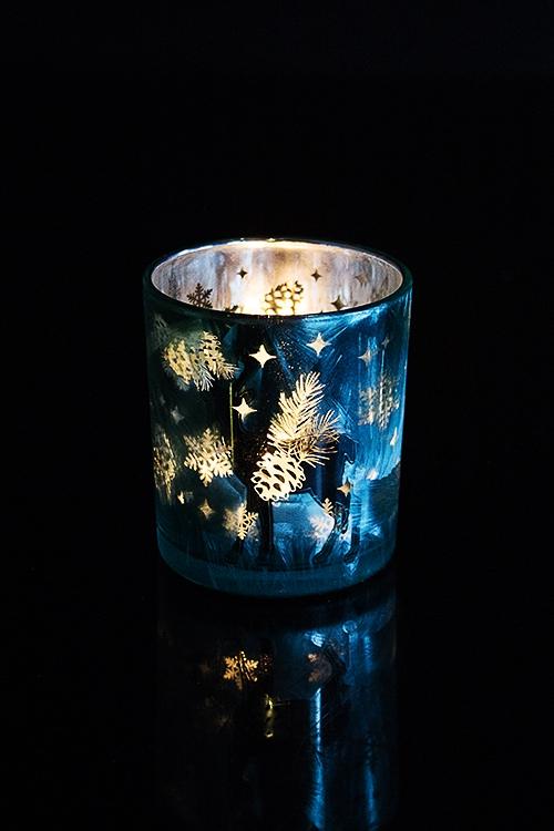 """Подсвечник для свечи-таблетки """"Волшебный олень"""""""