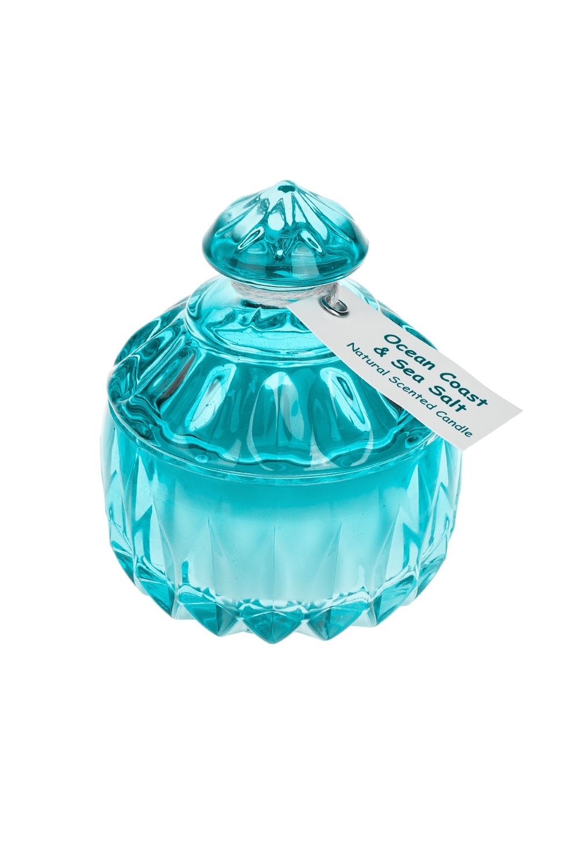 Подсвечник со свечой ароматизированной