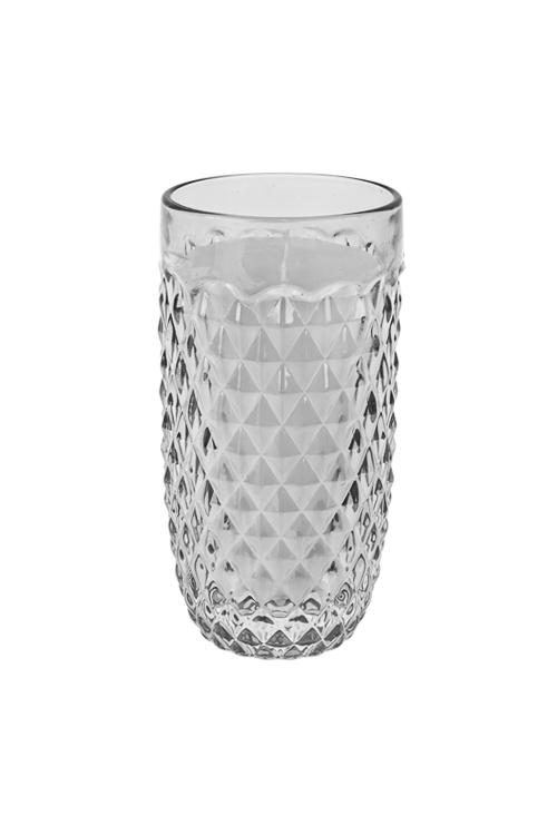 Подсвечник со свечой ароматизированной ХрустальИнтерьер<br>7*12см, парафин, стекло, с ароматом летних пряностей<br>