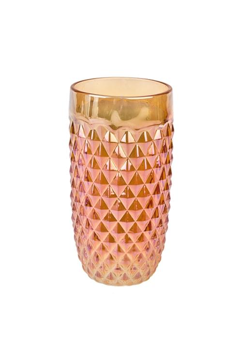 Подсвечник со свечой ароматизированной ХрустальПодсвечники<br>7*12см, парафин, стекло, с ароматом жасмина и полевых цветов<br>