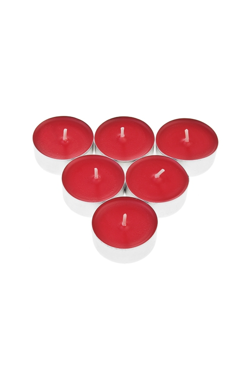 Набор свечей-таблеток ароматиз. КлубникаДекоративные свечи<br>Воск<br>