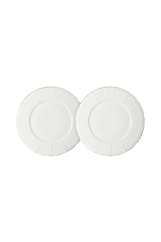 Набор тарелок БьянкаПосуда<br>Бренд: Colombo. 2 шт, 20,5см, костяной фарфор. Страна: Китай<br>