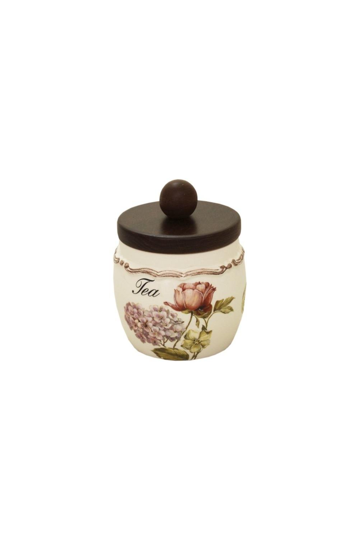 Банка для чая Сады ФлоренцииПосуда<br>Бренд: LCS. 0,5 л, керамика. Страна: Италия<br>