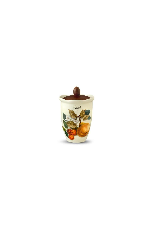 Банка для кофе Итальянские фруктыПосуда<br>Бренд: Nuova Cer. 20см, 0,8л, керамика. Страна: Италия<br>