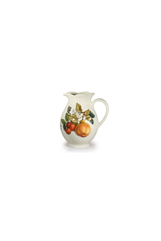 Кувшин Итальянские фруктыПосуда<br>Бренд: Nuova Cer. 22см, 1,95л, керамика. Страна: Италия<br>