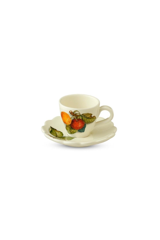 Чайная пара Итальянские фруктыПосуда<br>Бренд: Nuova Cer. 0,3л, керамика. Страна: Италия<br>