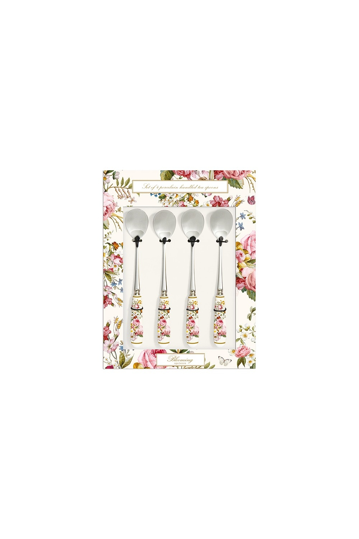 Набор чайных ложек Цветочный карнавал robert welch набор чайных ложек с длинной ручкой stanton satin 4 шт stasa1025v 4 robert welch