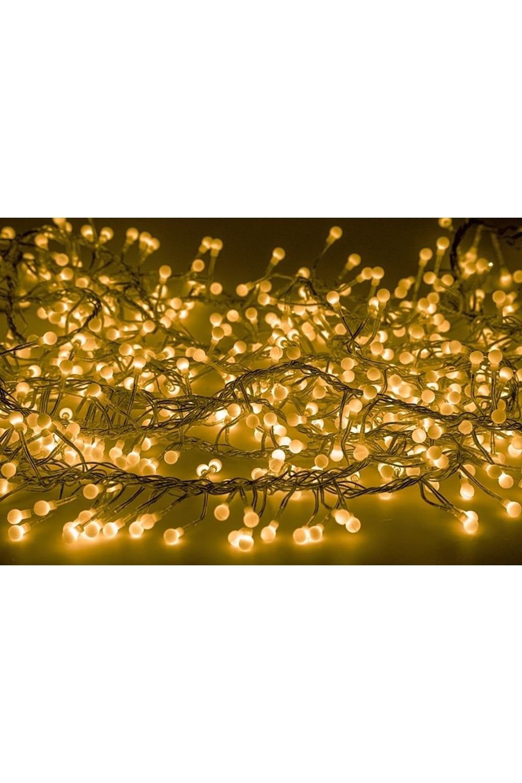 Гирлянда 3 м, 288 диодов, цвет желтый МишураПодарки на Новый год 2018<br>Данная гирлянда имеет длину 3м, на которой равномерно расположено 288 диодов желтого цвета свечения.<br>