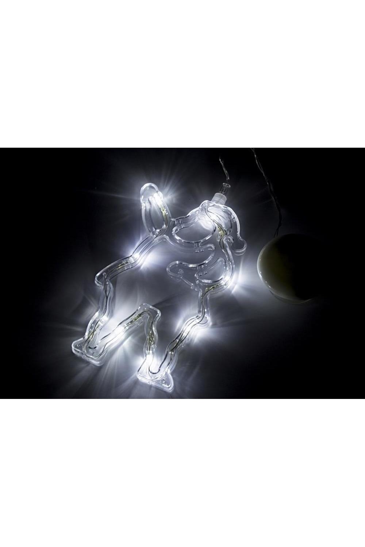 Фигура светодиодная на присоске Санта Клаус светодиодная фигура laitcom b247l d024a 40