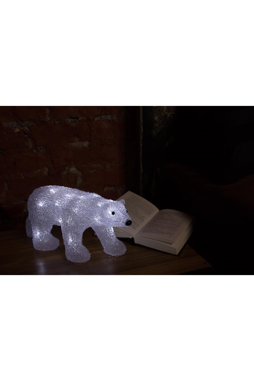 """Акриловая светодиодная фигура """"Медведь"""""""