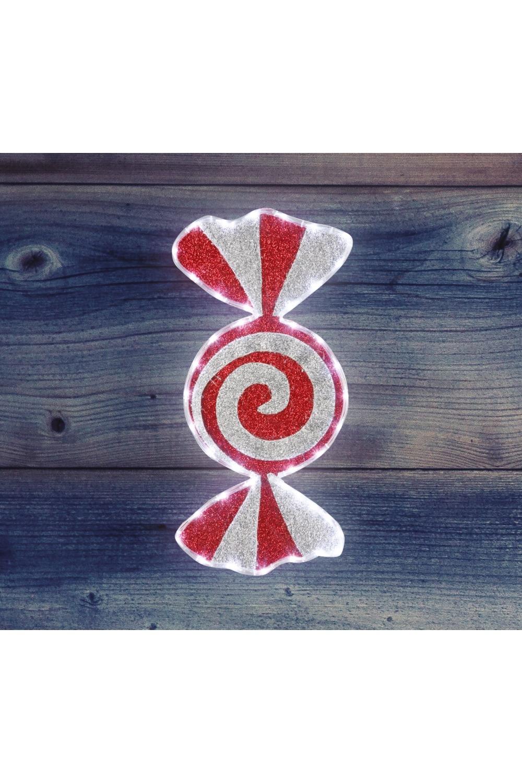 Фигура бархатная КарамельИнтерьер<br>Фигура имеет цветовое заполнение из специального материала, благодаря этому она выглядит празднично не только в темное время суток, когда радует глаз своим свечением, но и днем, отражая свет и переливаясь при попадании солнечных лучей. Размеры 60*30 см<br>