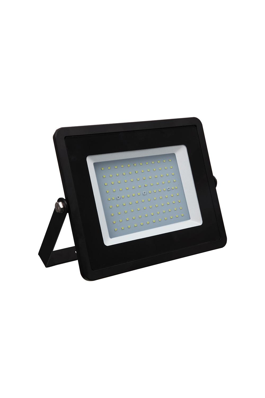 Прожектор светодиодный БелыйИнтерьер<br>Светодиодный прожектор – осветительный прибор, широко применяемый в современном мире, как для точечного, так и для локального освещения для подсветки фасадов зданий, дачных домов, дорожек, стоянок для автомобиля, улиц и двориков. Обладает повышенной степенью защиты от пыли и влаги (IP65), что позволяет его использовать как внутри, так и снаружи помещения. Срок службы (до 50 000 часов), низкое энергопотребление, а также высокая светоотдача являются основными преимуществами светодиодных прожекторов. Данная модель имеет мощность 80 Вт.<br>