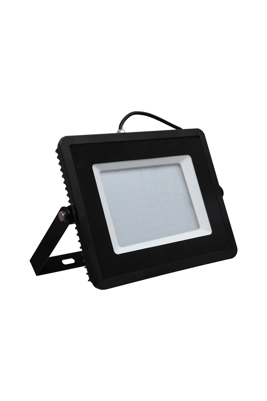 Прожектор светодиодный БелыйИнтерьер<br>Светодиодный прожектор – осветительный прибор, широко применяемый в современном мире, как для точечного, так и для локального освещения для подсветки фасадов зданий, дачных домов, дорожек, стоянок для автомобиля, улиц и двориков. Обладает повышенной степенью защиты от пыли и влаги (IP65), что позволяет его использовать как внутри, так и снаружи помещения. Срок службы (до 50 000 часов), низкое энергопотребление, а также высокая светоотдача являются основными преимуществами светодиодных прожекторов. Данная модель имеет мощность 150 Вт.<br>