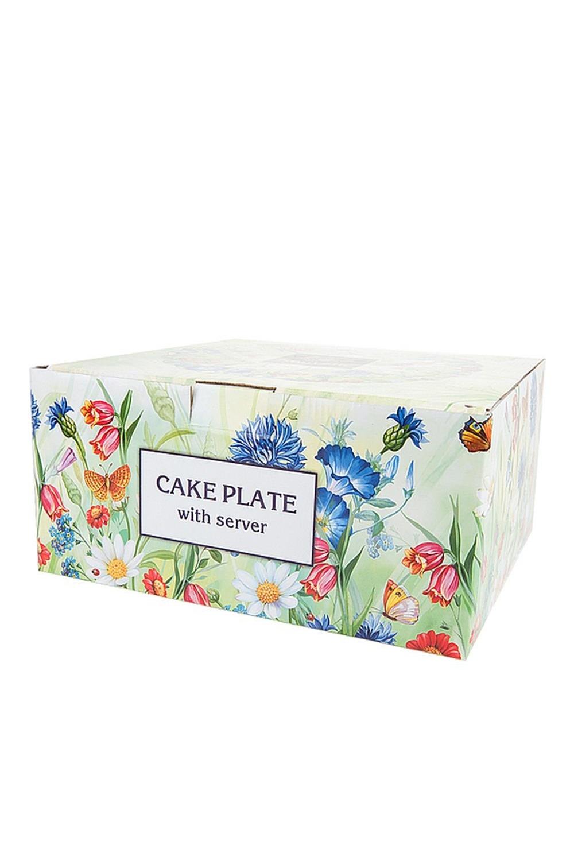 """Подставка для торта """"Цветочная поляна"""""""