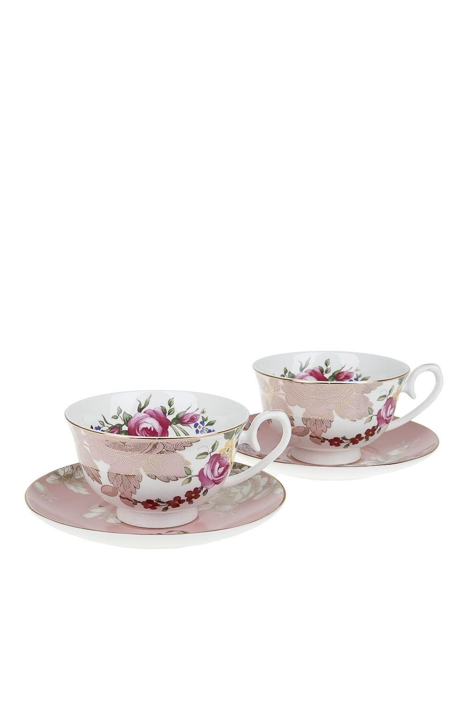 Чайный набор Нежная гармония набор чайный лаура 6 12 250мл фарфор под уп
