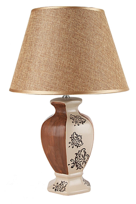 Лампа настольная ГрацияИнтерьер<br>Лампа настольная d=30см.. h=46см. (цоколь-Е27 напряжение-220-240В, мощность-40Вт, провод-L=120см.) Материал: Керамика<br>