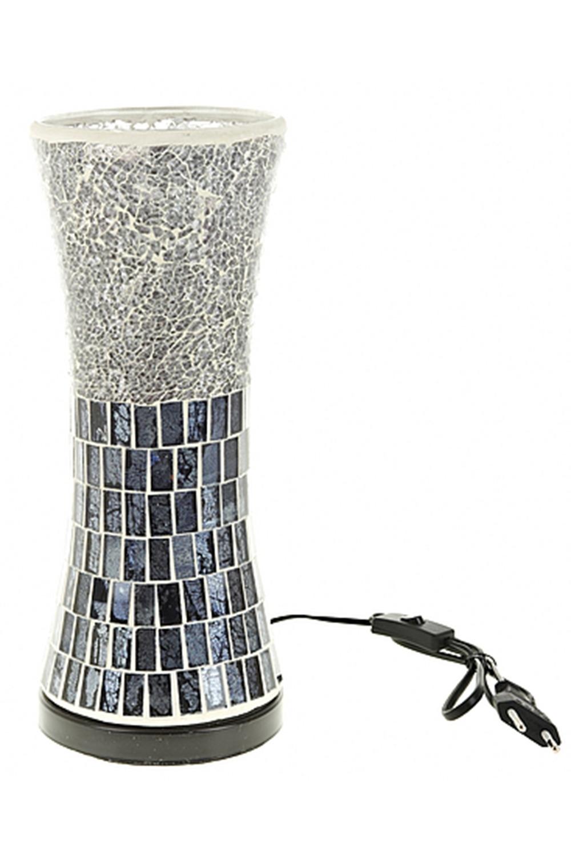 Лампа настольная МетелицаИнтерьер<br>Лампа настольная 13*13*32см. (цоколь-Е14, напряжение-230V, мощность 40W, провод-L=108см.) (индивидуальная коричневая упаковка)<br>