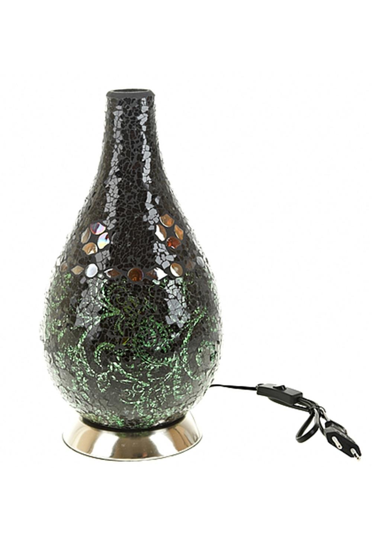Лампа настольная ЛендорфИнтерьер<br>Лампа настольная 18*18*36см. (цоколь-Е14, напряжение-230V, мощность 40W, провод-L=108см.) (индивидуальная коричневая упаковка)<br>