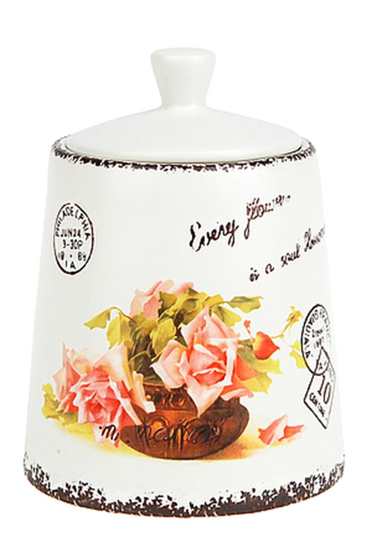 Банка для сыпучих продуктов Персидская роза емкости неполимерные konono банка для сыпучих продуктов 800мл